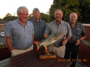 2013 TFT - The After Party - Winning Fish Team - Peter, Bruce, Paul and John